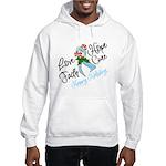 Holiday Hope Prostate Cancer Hooded Sweatshirt