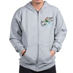 Holiday Hope Prostate Cancer Zip Hoodie