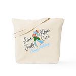 Holiday Hope Prostate Cancer Tote Bag