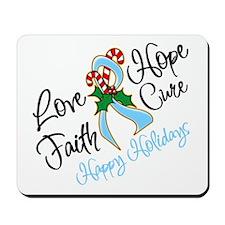 Holiday Hope Prostate Cancer Mousepad