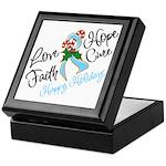 Holiday Hope Prostate Cancer Keepsake Box