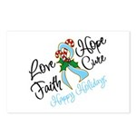 Holiday Hope Prostate Cancer Postcards (Package of