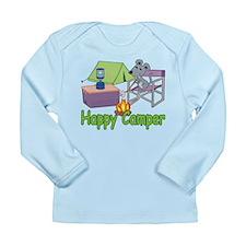 Happy Camper Long Sleeve Infant T-Shirt