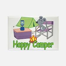 Happy Camper Rectangle Magnet