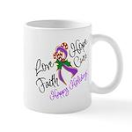 Holiday Hope Pancreatic Cancer Mug