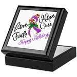Holiday Hope Pancreatic Cancer Keepsake Box