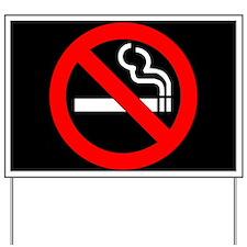 No Smoking Yard Sign