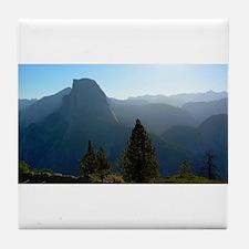 Yosemite, Glacier Point view - Tile Coaster
