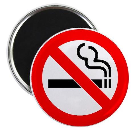 """No Smoking 2.25"""" Magnet (100 pack)"""