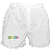Chemistry Brainy Boxer Shorts