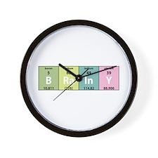 Chemistry Brainy Wall Clock