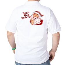 Don't Stop Believin' Santa T-Shirt