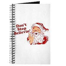 Don't Stop Believin' Santa Journal