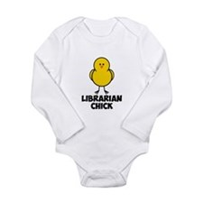 Librarian Chick Long Sleeve Infant Bodysuit