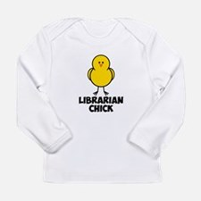 Librarian Chick Long Sleeve Infant T-Shirt