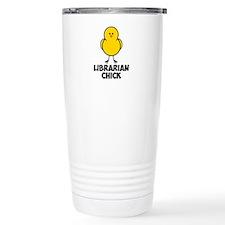 Librarian Chick Travel Mug