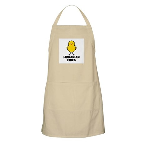 Librarian Chick Apron