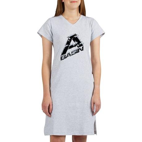 A-Basin Snow Capped Logo Women's Nightshirt