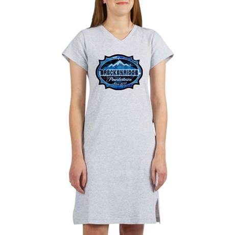 Breckenridge Powdertown Ice Women's Nightshirt