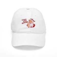 Santa Has a Big Package Baseball Cap