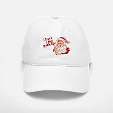 Santa Has a Big Package Cap