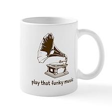 Funky Music (brown) Mug