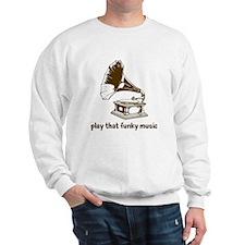 Funky Music (brown) Sweatshirt