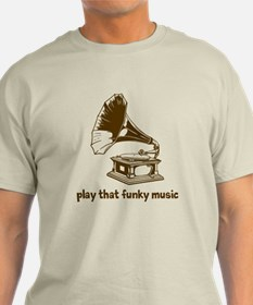 Funky Music (brown) T-Shirt