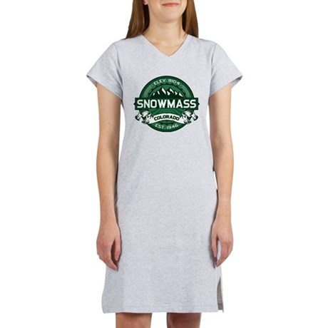 Snowmass Forest Women's Nightshirt
