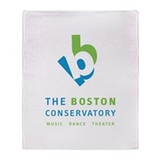 Boston Conservatory Throw Blanket