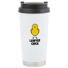 Lawyer Chick Travel Mug