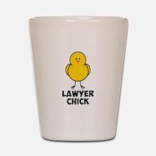 Lawyer Chick Shot Glass