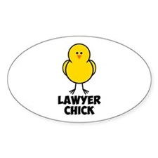 Lawyer Chick Decal