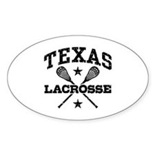 Texas Lacrosse Decal