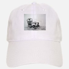 Baseball Baseball Cap with Sea Otters drawing