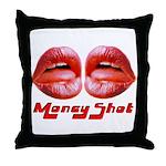money shot Throw Pillow