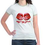money shot Jr. Ringer T-Shirt