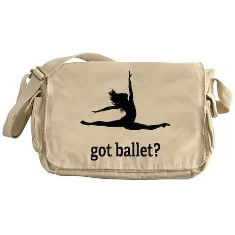 Got ballet? Messenger Bag