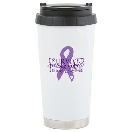 Domestic Violence Survivor Stainless Steel Travel