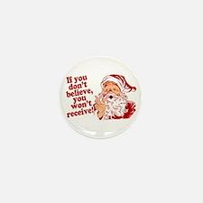 Believe in Santa Claus Mini Button (100 pack)