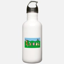 Pied Piper Sheltie Water Bottle