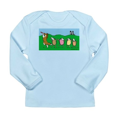 Pied Piper Sheltie Long Sleeve Infant T-Shirt
