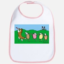 Pied Piper Sheltie Bib