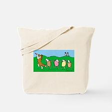 Pied Piper Sheltie Tote Bag