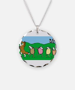 Pied Piper Sheltie Necklace