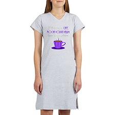 Cafe Latte Women's Nightshirt