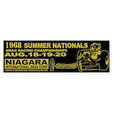 Niagara Drag Strip Bumper Sticker