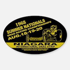 Niagara Drag Strip Decal
