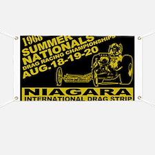 Niagara Drag Strip Banner