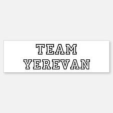 Team Yerevan Bumper Bumper Bumper Sticker